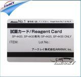 Impressora do cartão da identificação do empregado da máquina de impressão do cartão da identificação do estudante da escola