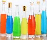 bottiglia di vetro della spremuta 100ml/bevanda/liquore con il coperchio dello stagno