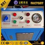 Serviço de Pós-venda a gama de crimpagem superior de borracha máquina de Crimpagem Manual
