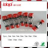 Fibra óptica plástica dos encaixes de Hantang, acessórios óticos, micro conetor de duto