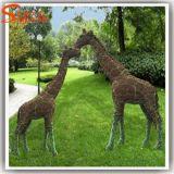 La decoración de jardín ciervos Sika Topiary Planta Artificial Césped