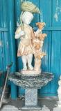 По вопросу о торговле великолепное качество красивый маленький фонтан с дешевой цене мраморные статуи Леди скульптура