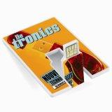 Flipkarten-Kreditkarte geformtes USB-Zoll-Firmenzeichen