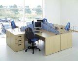 Estação de trabalho redonda do escritório de China da forma nova para 4 povos (SZ-WS357)