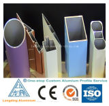 Perfil de venda quente da liga de alumínio da fábrica para o material de construção
