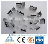 Perfil de alumínio para o material de construção de alumínio 6060, 6061, 6063t