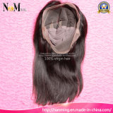 7A 질 아기 머리를 가진 인도 땋는 가득 차있는 레이스 가발 주문품 사람의 모발 가발 8-30 인치