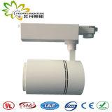 Luzes de pista de 40 W com adaptador de vias 3 e 5 anos de garantia e o LED de Ângulo pequeno via Luzes de foco