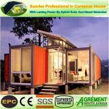 20FT 40FT het Geprefabriceerde huis prefabriceerde de Mobiele Winkel van de Koffiebar van de Container