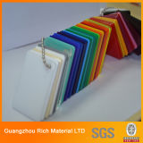 Clear&Color Plexiglas-Vorstand-Plastik warf Acrylvorstand