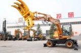 Escavatore idraulico cinese della rotella di Ht155W