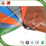 Qualidade elevada 120gsm 4*5m lonas de plástico reforçado de PE azul