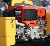 回転スイッチ800kg振動の道ローラーのコンパクター機械