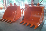幼虫の小松日立Kobelco KatoヒュンダイDeawoo JcbのためのDozerの掘削機のバケツ