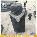 De Citaten van de Grafsteen van het Ontwerp van het Hart van het graniet