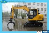8,5 tonne de bois hydraulique de l'excavateur Grab/Log Grab