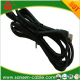 カメラLink/CCTVの機密保護ケーブルのための電源コードRg59/RG6の同軸ケーブルとのRg59/RG6シャムRg59/RG6