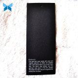 3mm die super starke schwarze Papier-Kleidung versieht Spitzen für gute Qualitäts-Kleidung mit Warnschild