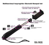 Costume Bluetooth Snap-Together multifonctionnelle Monopod RK908 (OM-RK908)