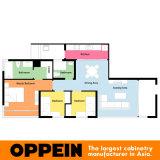 Отель Oppein два небольших сдвижной двери деревянные шкафы (OP15 - дом3)