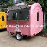 Практические коммерческих из нержавеющей стали для использования вне помещений Street Mobile яблочное мороженое кофе Hot Dog погрузчика для продажи
