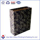 Zak van het Document van Kraftpapier van de Fabriek van China de Bruine/de Zak van het Document van Kraftpapier van de Druk van het Embleem van de Douane