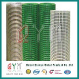 Treillis métallique soudé enduit par PVC Rolls pour la construction