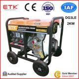 2kw Homeuse 전기 발전기 (DG 3LE)