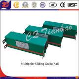 Fornecimento de sistema de condutor de potência móvel Guias de guias de barras de cobre