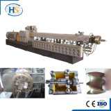 Ligne de production de tuyau d'aluminium / plateau en machine à extrudeuse à vis double en plastique Tse-95A