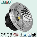 GU10 Base LED AR111 avec effet de lumière halogène parfait
