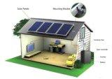 Sistema de energia solar portátil do K-Armazenamento 1kw-5kw, sistema de gerador Home solar da iluminação