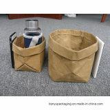 Weihnachtsgeschenk-waschbarer Papierbeutel für Speicherlebensmittelgeschäft-Beutel