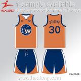 La sublimation neuve de vitesse d'usure de sports de modèle de Healong Teams des Jersey de basket-ball de club à vendre