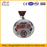 Médaille en alliage de zinc faite sur commande en métal de noir de placage