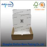 Коробка гофрированной бумага Brown с внутренним печатание (QY160363)