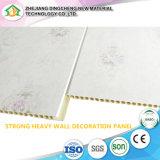 Duas ranhuras do painel de PVC de laminação do painel da parede de PVC forro de PVC Painel impermeável de decoração