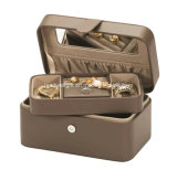 Joyero de cuero con bandeja Caja de regalo