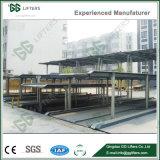 GG-Heber-Keller verwendete die zwei Fußboden-Vertiefung-Parken-Aufzug-hydraulisches Berufsauto-Parken-System