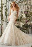 Neues Heiß-Verkaufenbraut-Nixe-Hochzeits-Kleid des büstenhalter-2016, angepasst