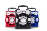 4 Spreker Bluetooth van de Kaart USB van het CF van de duim de Draadloze Draagbare Mini Mobiele MP3