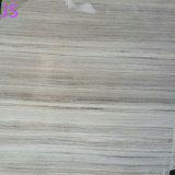 カウンタートップまたはテーブルの上のための自然な磨かれた水晶木製の穀物の大理石の平板