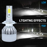 Горячая продажа 3800лм ламп автомобиля початков LED Фары HID комплект шины Can