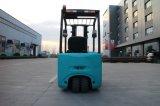 Batería de alta calidad de 1,6 toneladas de carretilla elevadora con tres ruedas para la venta