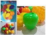 Neues Entwurfs-lustiges Frucht-Spiel-gesetztes hölzernes Kind-Supermarkt-Spielzeug