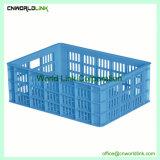 L'agriculture de qualité alimentaire ferme ventilé de stockage PE de la caisse de fruits