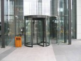 Puerta giratoria automática o manual, 2 alas, Alas 3 o 4 alas puerta giratoria