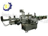 Double machine à emballer latérale d'Ashesive de stand de bouteille ronde