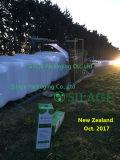 Película del ensilaje del blanco de la buena calidad 750m m para Australia