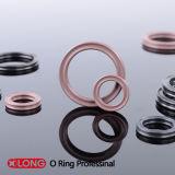 Norma de borracha de estoque grande anel Quad FKM para movimento rotativo